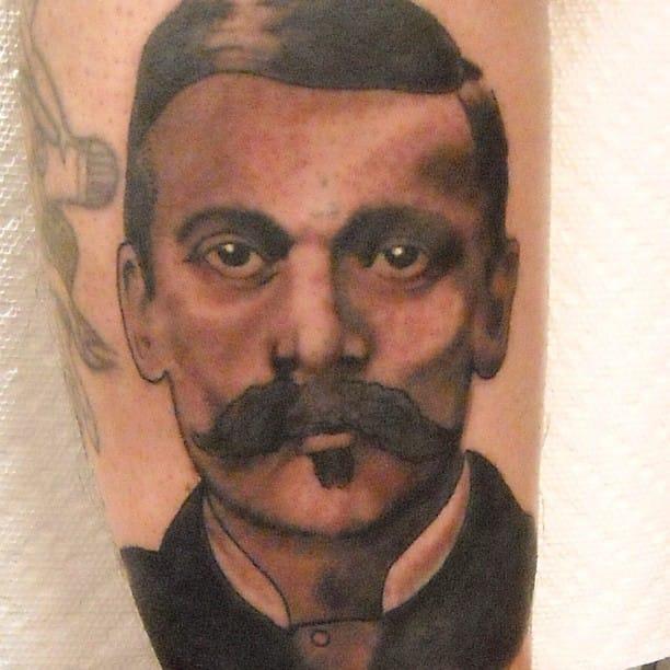 Doc Holliday Tattoo by Joe Truck