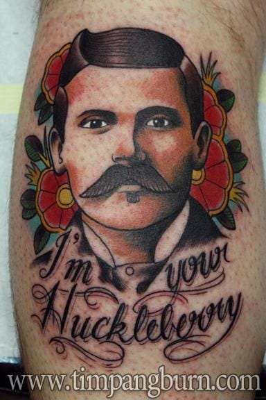 Doc Holliday Tattoo by Tim Pangburn