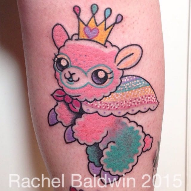Kawaiicore tattoo by Rachel Baldwin