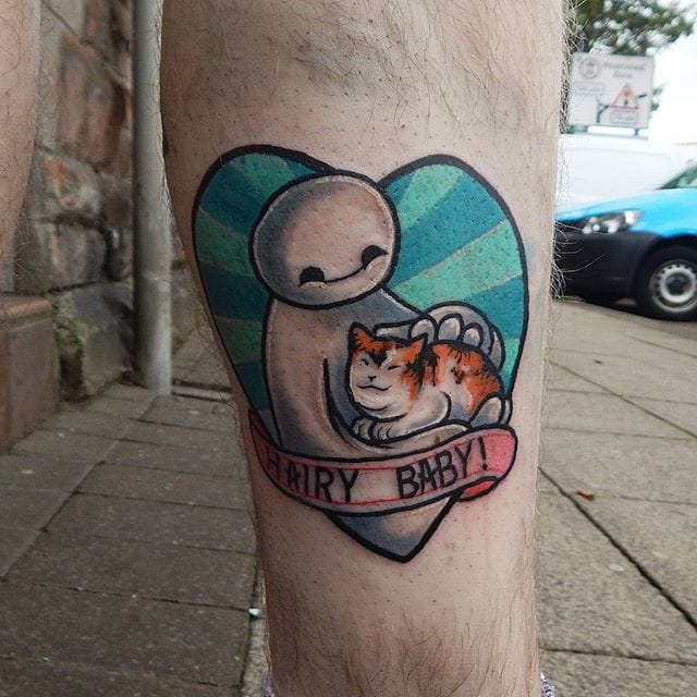 Kawaiicore tattoo by Nicole Cairns