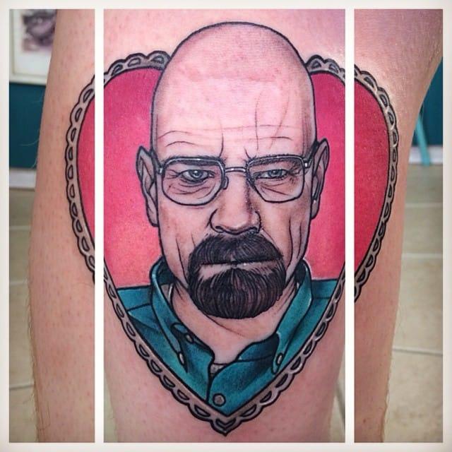 12 Bold Walter White Portrait Tattoos!
