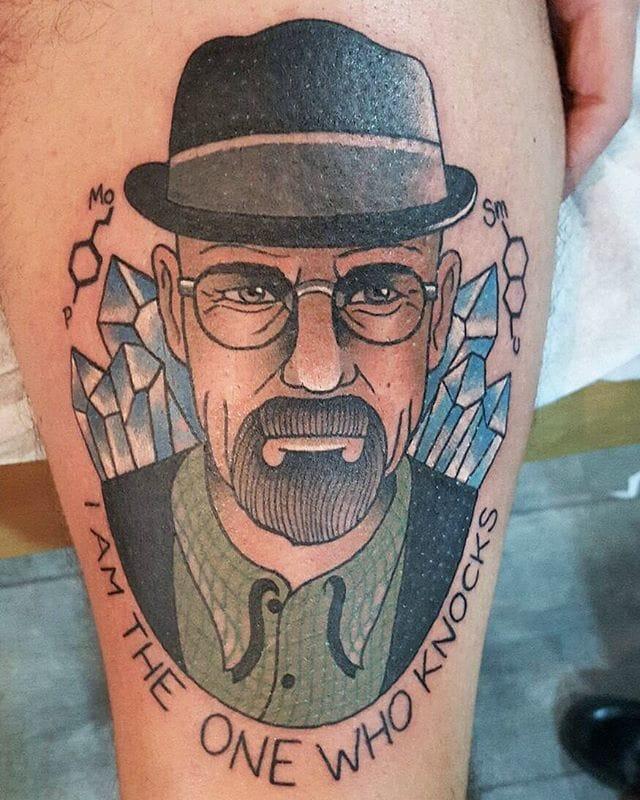 Sweet Walter White Tattoo by Valentina Iena