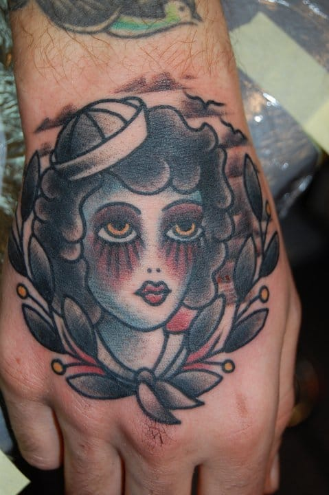 Sailor Girl Tattoo by Joel Madberg