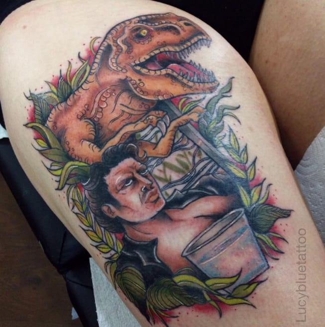 Tattoo Artist Lucy Blue (Part 1): 10 Cute Pop Culture Tattoos