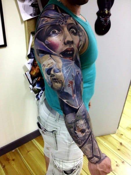 Freaky sleeve by Marcin Sonski!