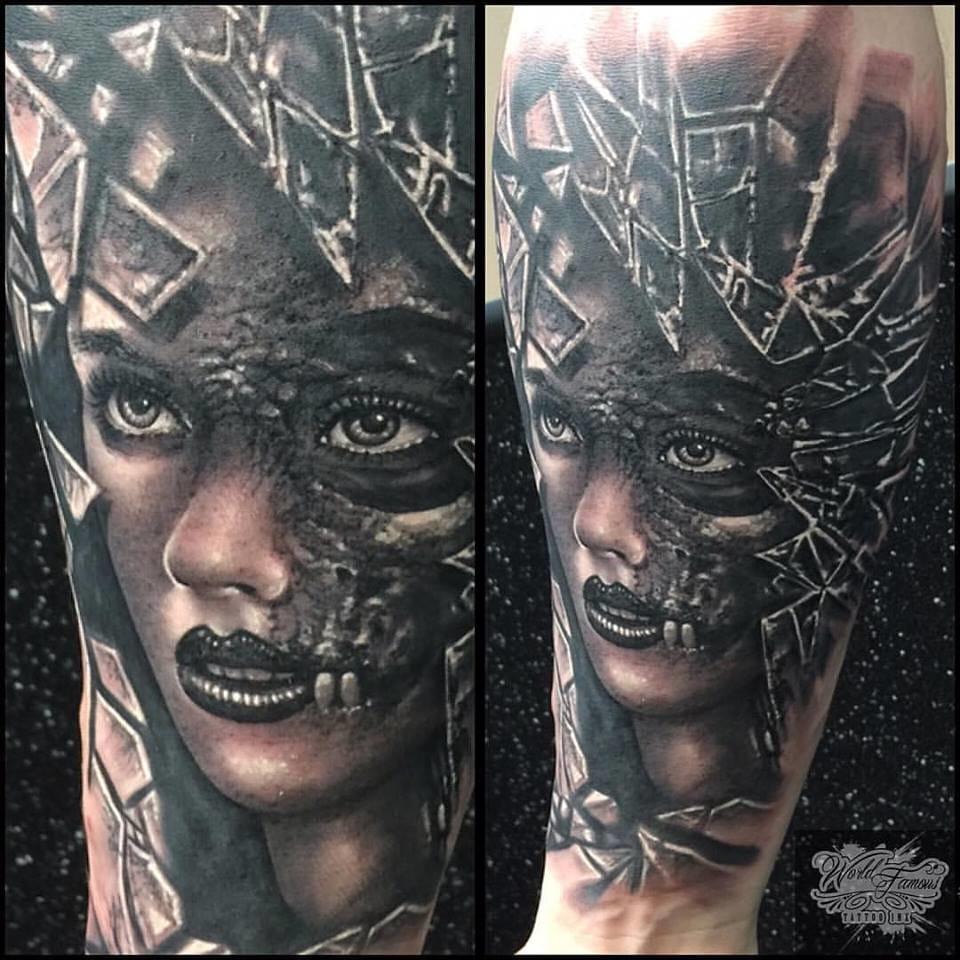 Dark art by Piotr Cwiek.