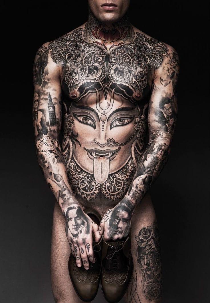 16 Fierce Kali Tattoos