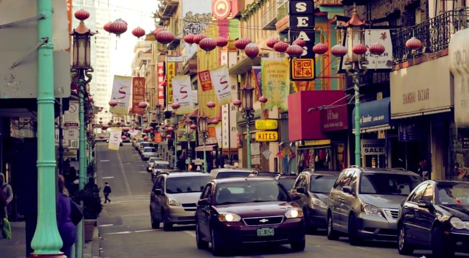 Chinatown, San Francisco, USA.