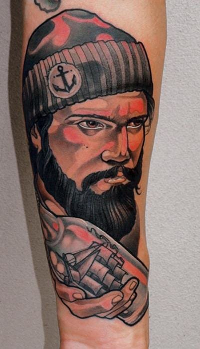 15 Exceptional Neo-Traditional Tattoos By Marco Schmidgunst