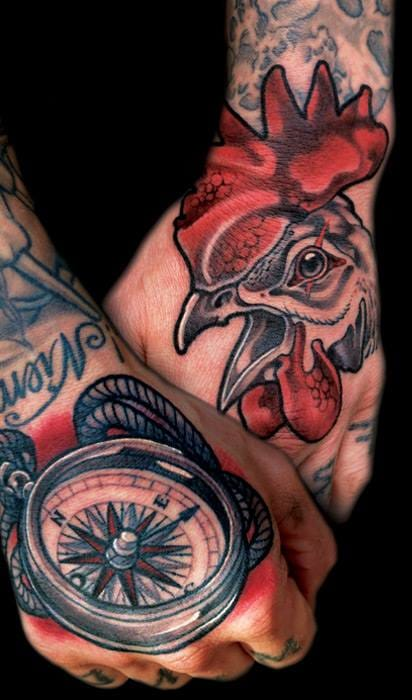 Solid Hand Tattoos