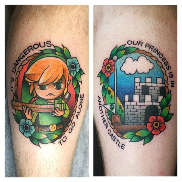 25 Rad Pop Culture Tattoos By Gooney Toons