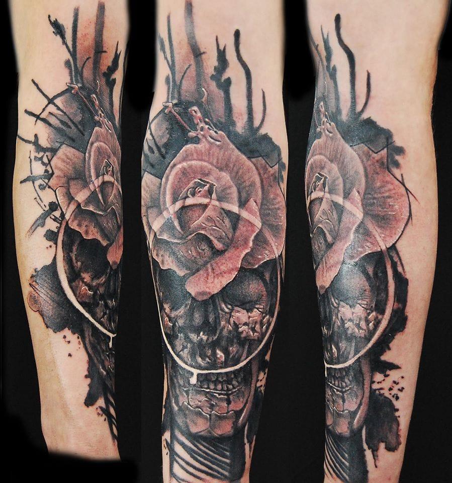 Dark tattoo by Maciej Enzo Sowa.