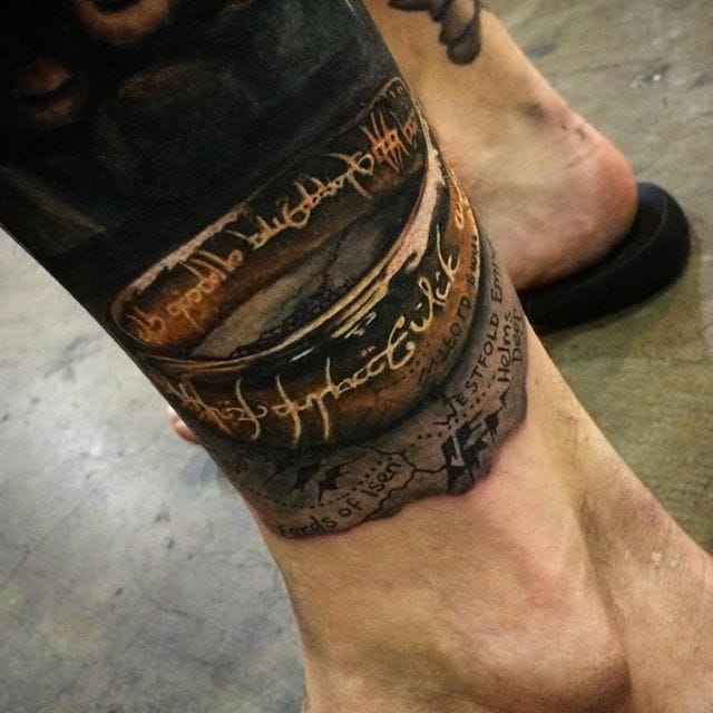 20 Lord Of The Rings Tattoos That Are Too Precious