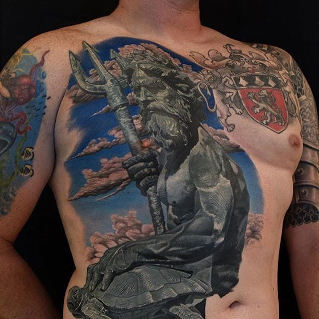Epic tattoo by Phil Garcia...