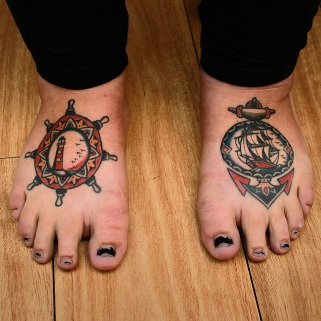 Nautical Feet by Vic James