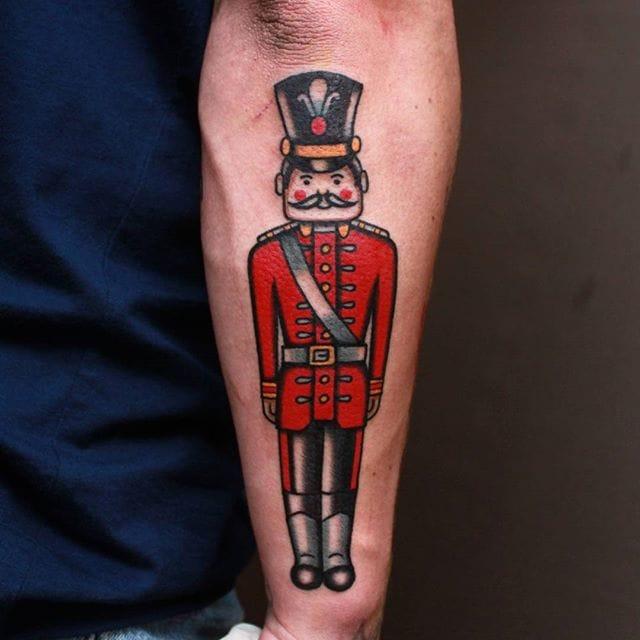 Nutcracker Tattoo by Vic James