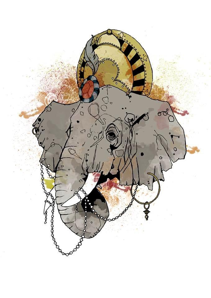 Tattoo design by Shaun Williams.
