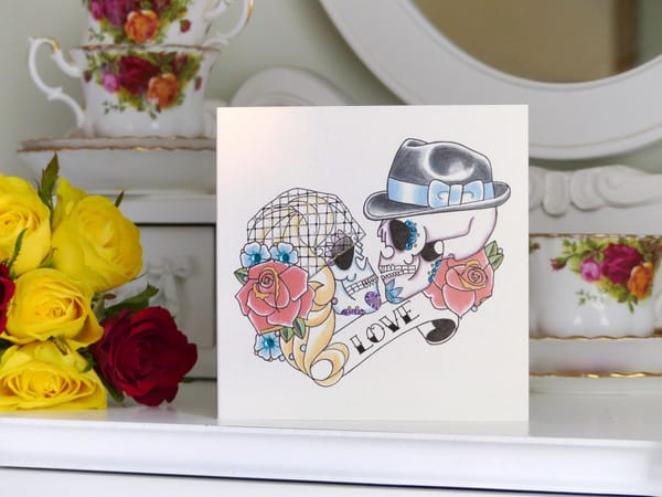 Vicki sells many other card designs, for birthdays, weddings and more!