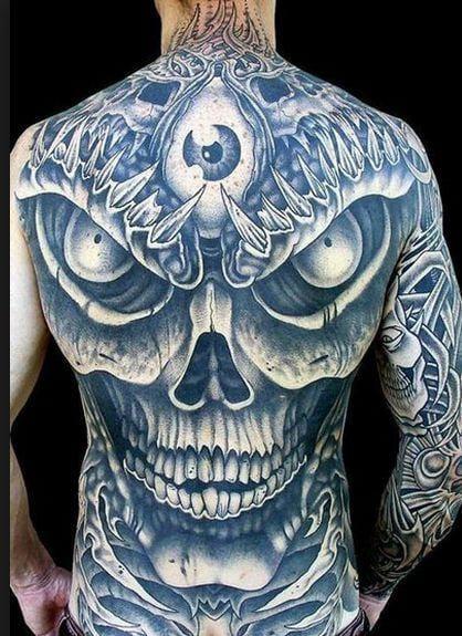 20 Beyond Ordinary Third Eye Skull Tattoos