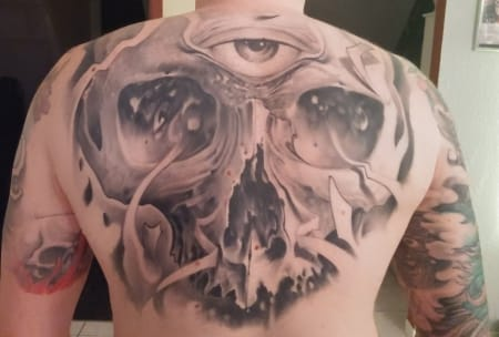 Black and gray realism by the infamous Victor Portugal, victorportugal.com
