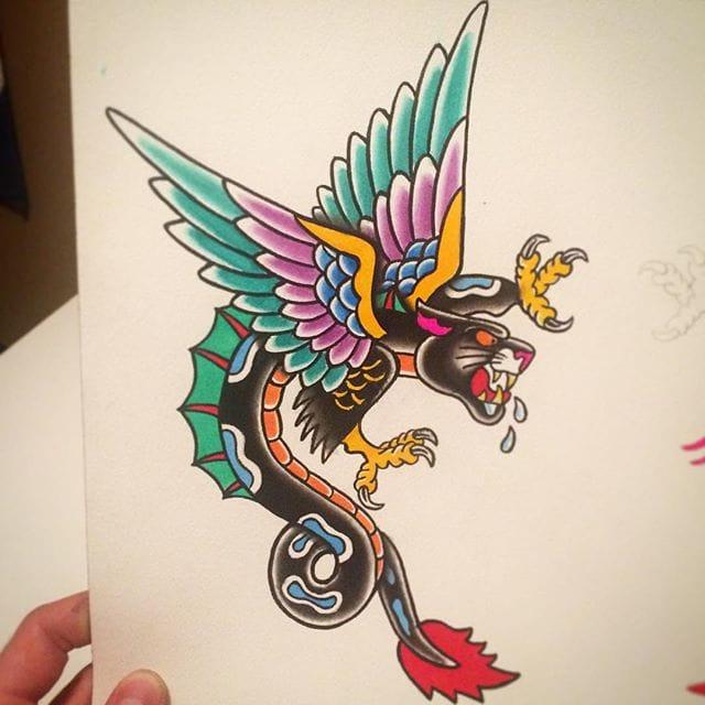 Panther Dragon Flash by Joseph Gutshall