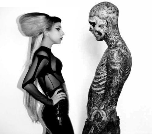 Lady Gaga and Zombie Boy