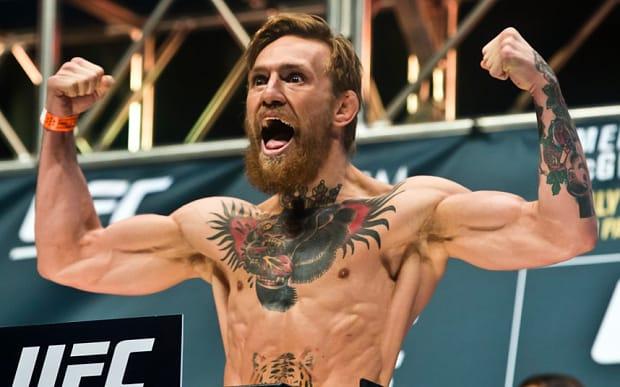 McGregor huge collarbone piece