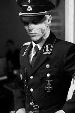 The guy you'd want on your side during a zombie apocalypse, image found on Pinterest.com