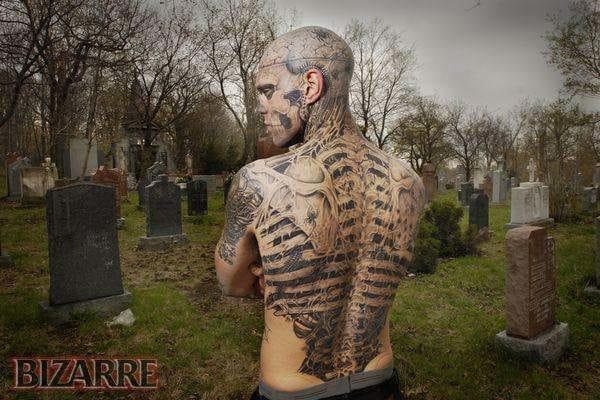 zombie backpiece
