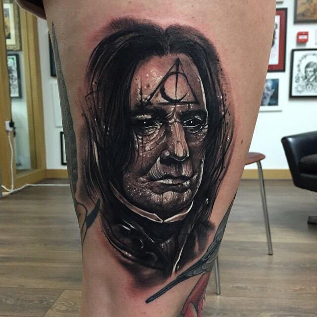 15 Shattering Severus Snape Tattoos In Memory Of Alan Rickman