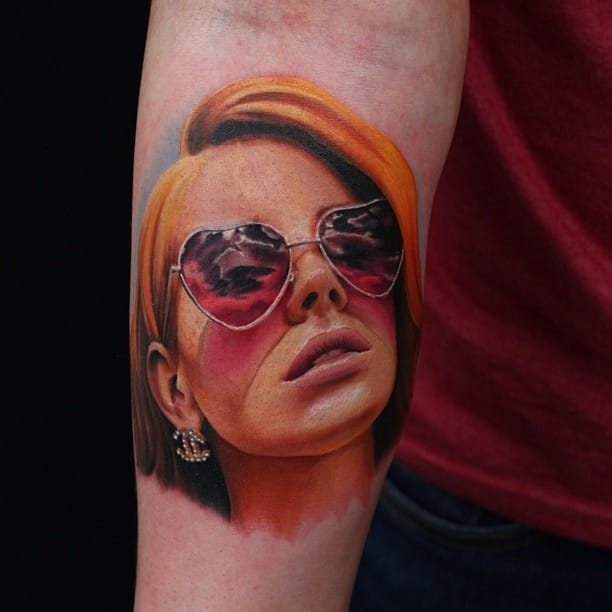Get Your Body Electric On With These Lana Del Rey Tattoos