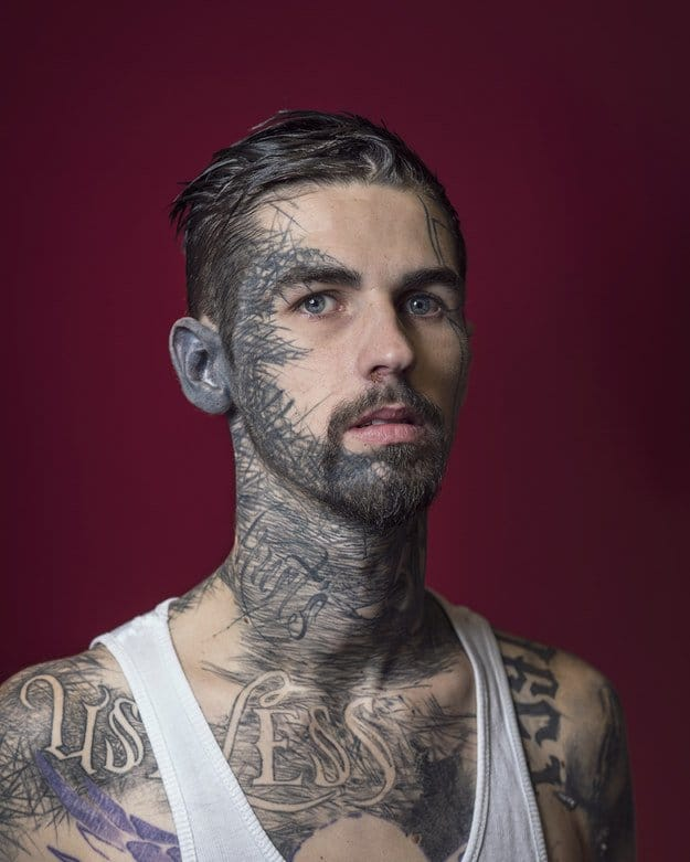 A Kaleidoscope Of Tattooed Faces By Mark Leaver
