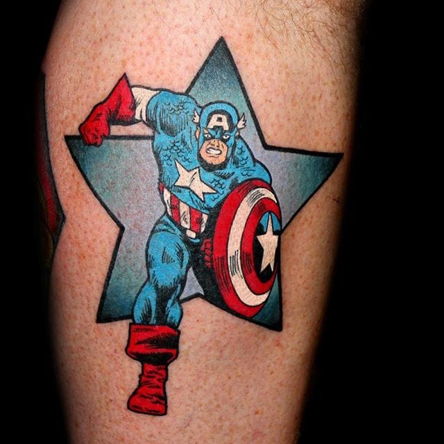 Comic Inspired Tattoo by Chris 51