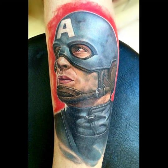 Solid Tattoo by Matthew Davidson