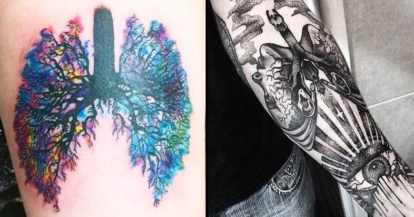 10 unusual lung tattoos
