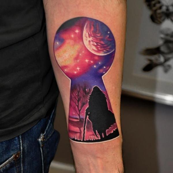Fantasy piece by Rock Tattoo.