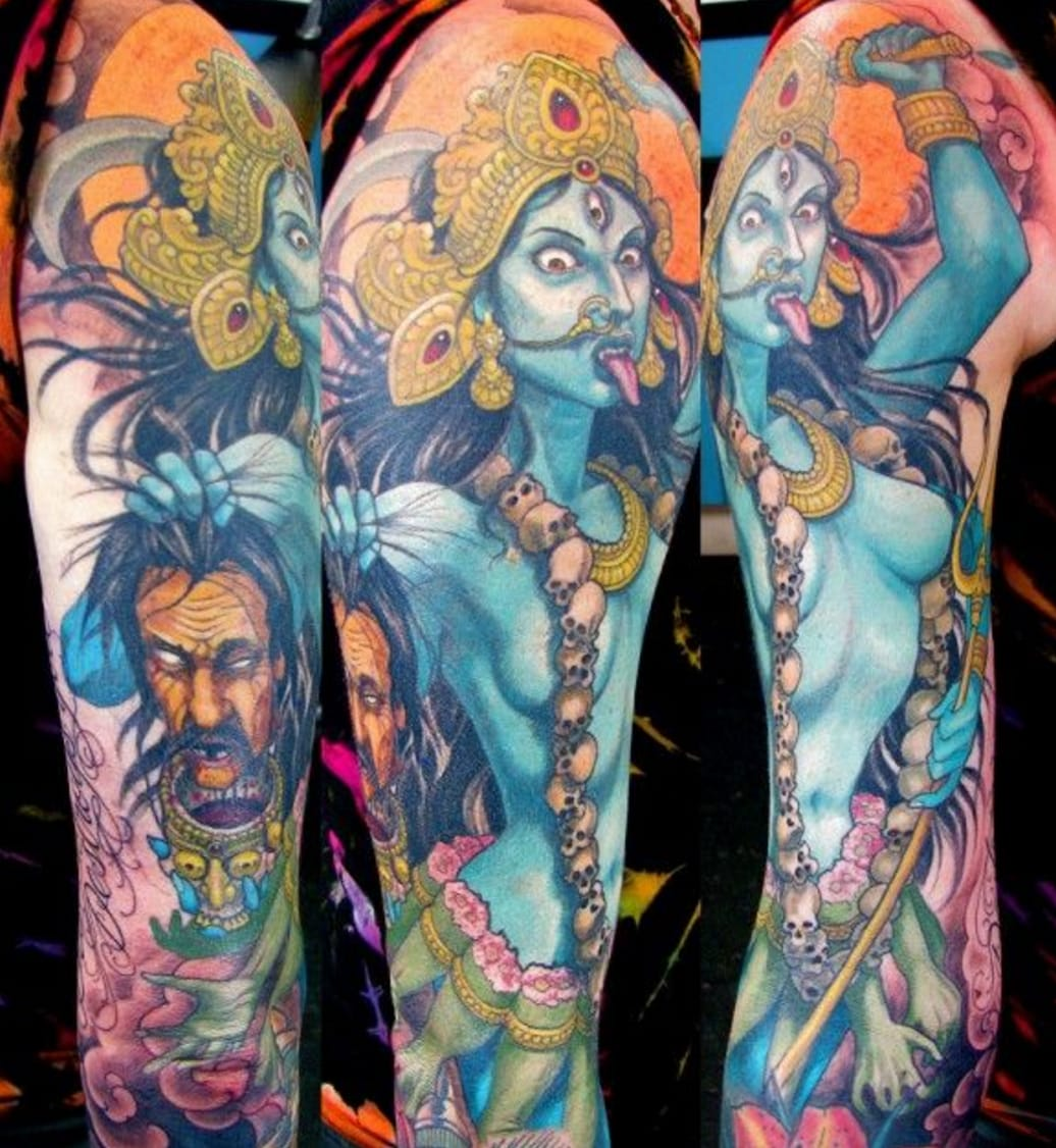 40 Vivid Hindu Inspired Tattoos