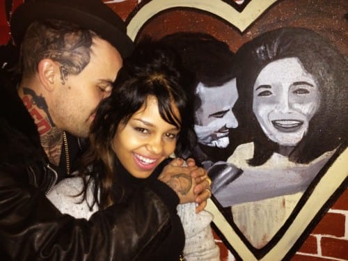 7. Yelawolf - Johnny Cash celebrity portrait tattoo on the side of his scalp