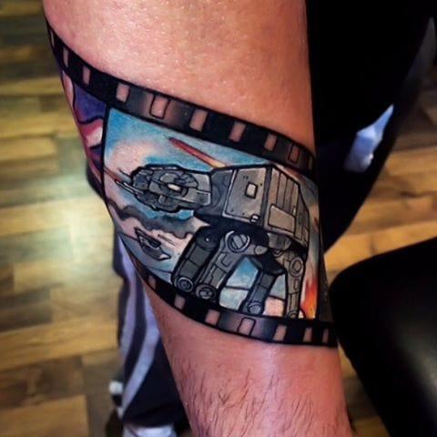 Star Wars film reel