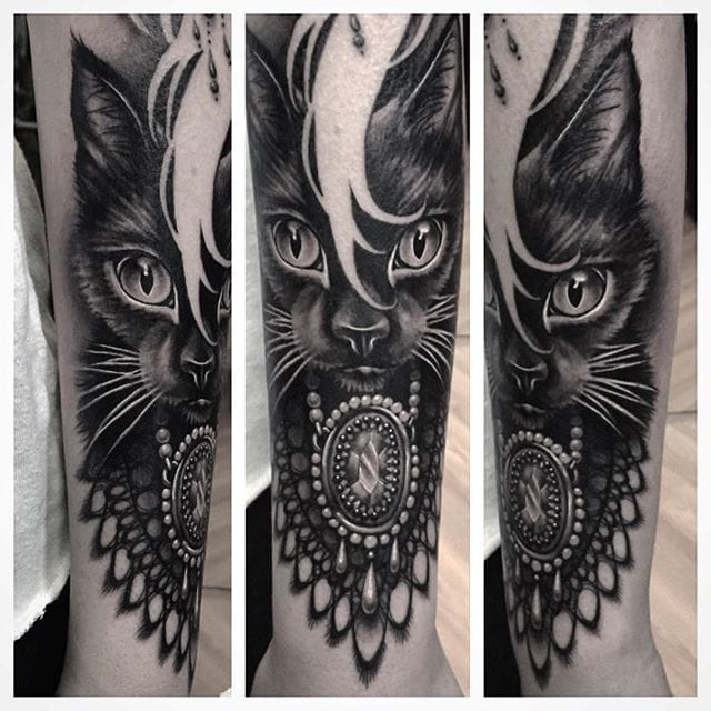 Cat Tattoo #RyanAshleyMalarkey