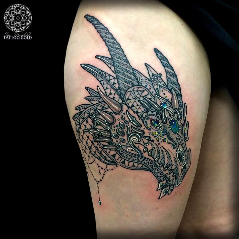 O que dizer desse dragão???
