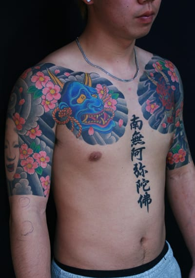 Japanese Demon Tattoo by Van Tattoo Studio