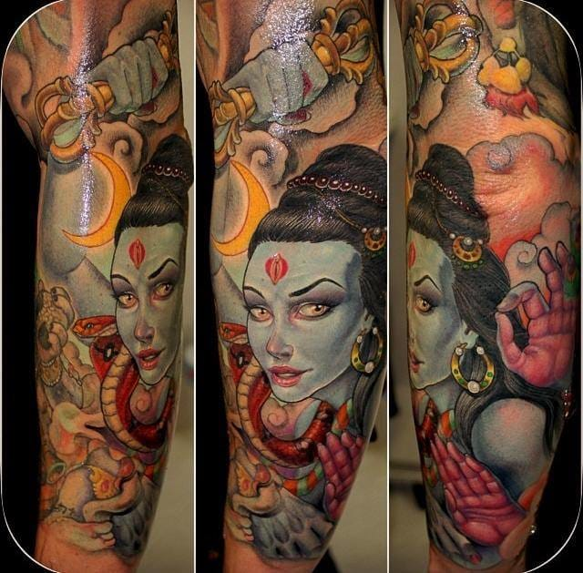 Another great Kali tattoo by Koan.