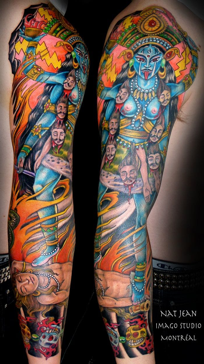 Awesome Kali sleeve by Nat Jean!