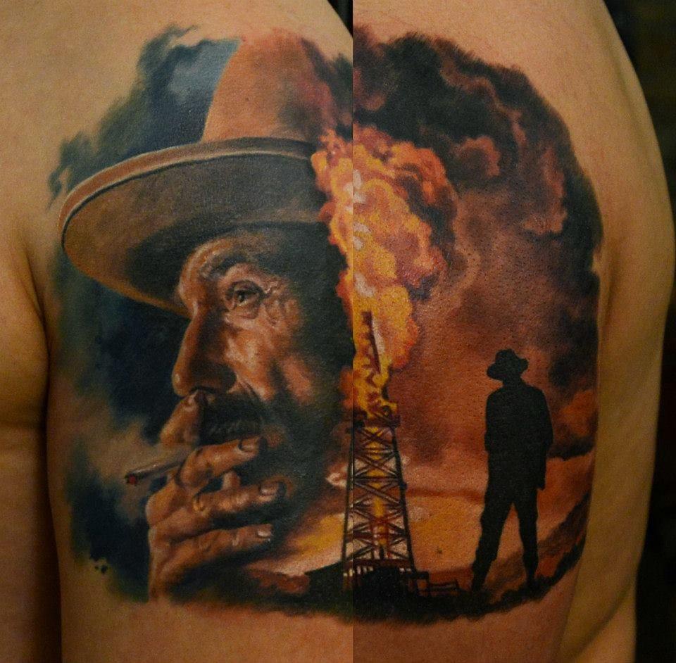 10 Assured Daniel Plainview Tattoos