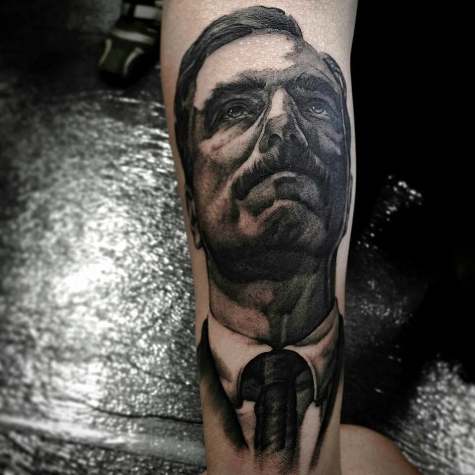 Awesome Daniel Plainview Tattoo by Billi Murran