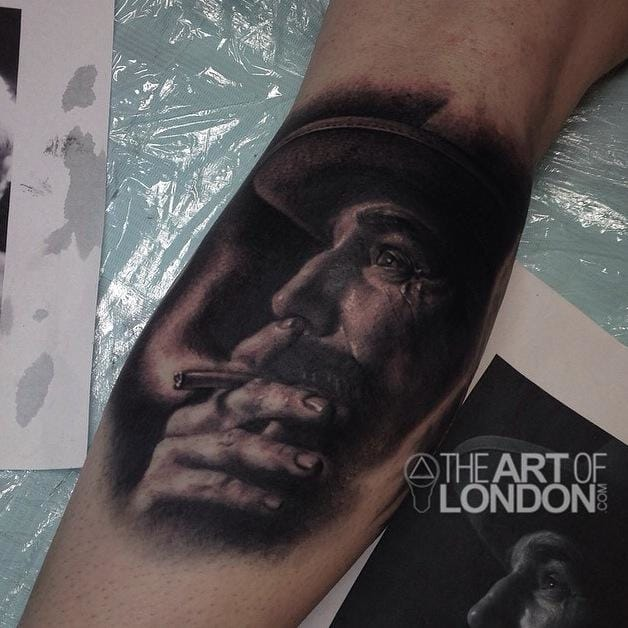 Great Daniel Plainview Tattoo by The Art Of London