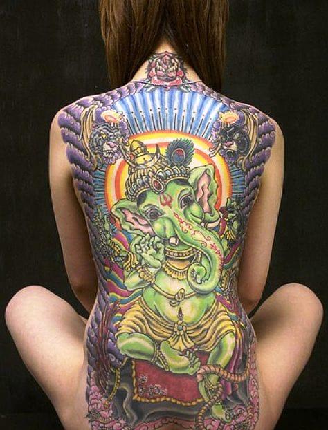 Amazing backpiece!