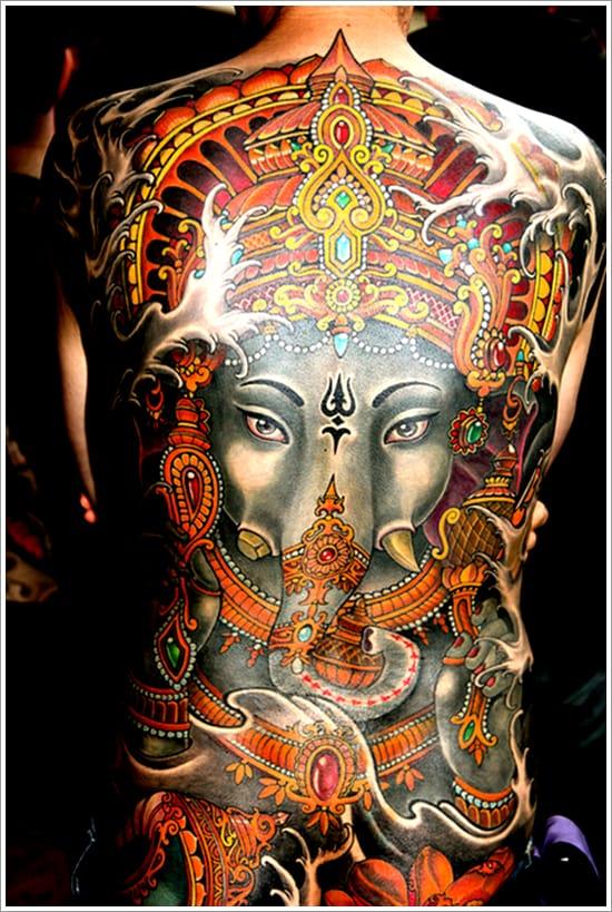 Beautiful Hindu tattoo