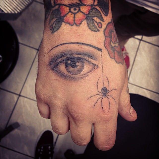 Eye Tattoo by Oliver Macintosh